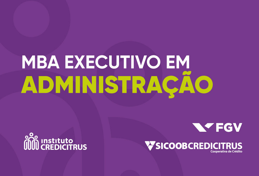 Instituto Credicitrus e FGV divulgam lista de aprovados da MBA Executivo em Administração