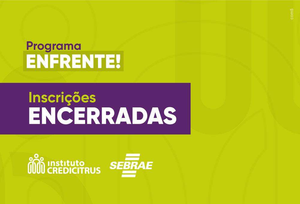 Programa do Instituto Credicitrus em parceria com o SEBRAE encerra suas inscrições