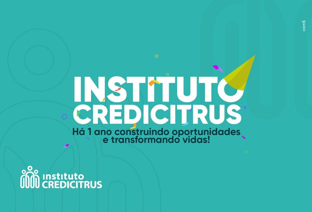 Instituto Credicitrus comemora 1 ano de atividades em mais de 60 municípios