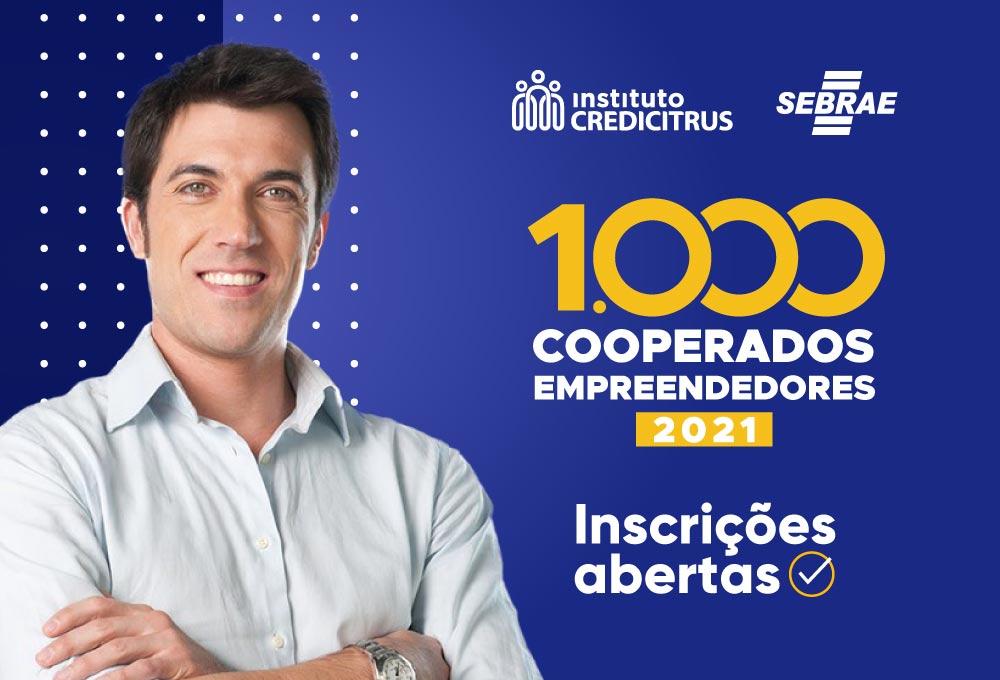 Inscreva-se no Programa 1.000 Cooperados Empreendedores 2021