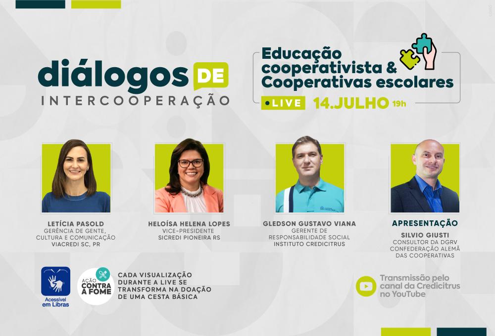 Diálogos de Intercooperação – Educação Cooperativista & Cooperativas Escolares