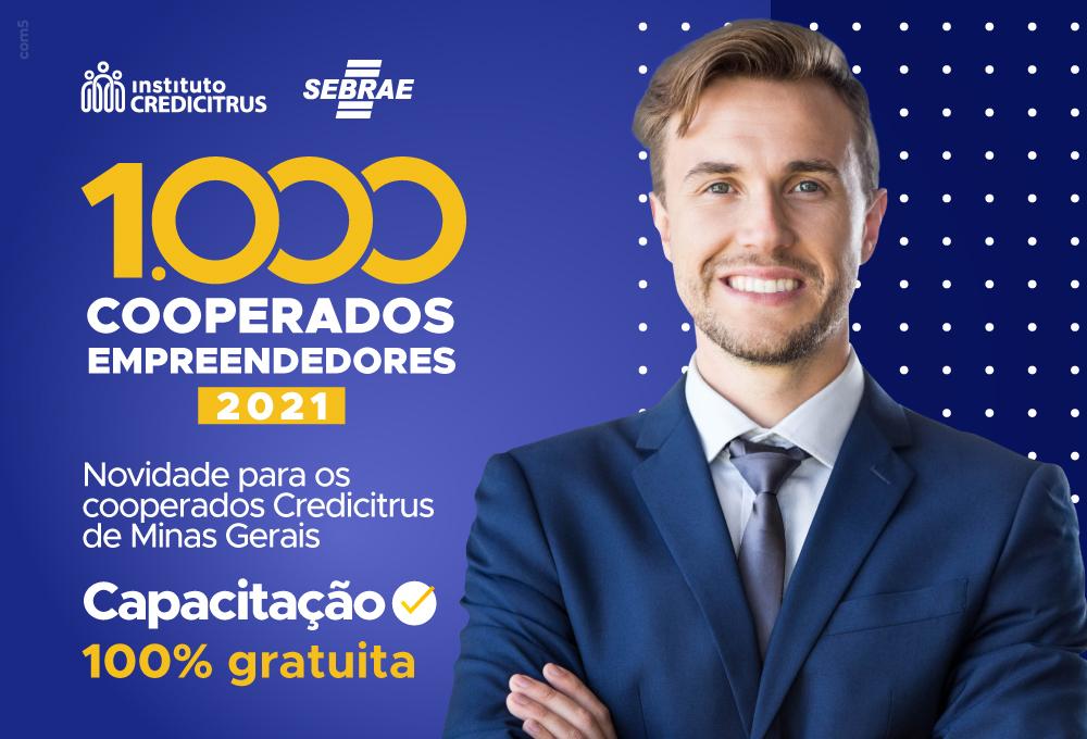 1.000 Cooperados Empreendedores chegou em Minas