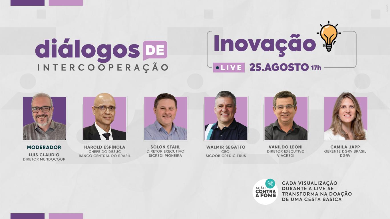 Inovação será o tema do 7º episódio dos Diálogos de Intercooperação