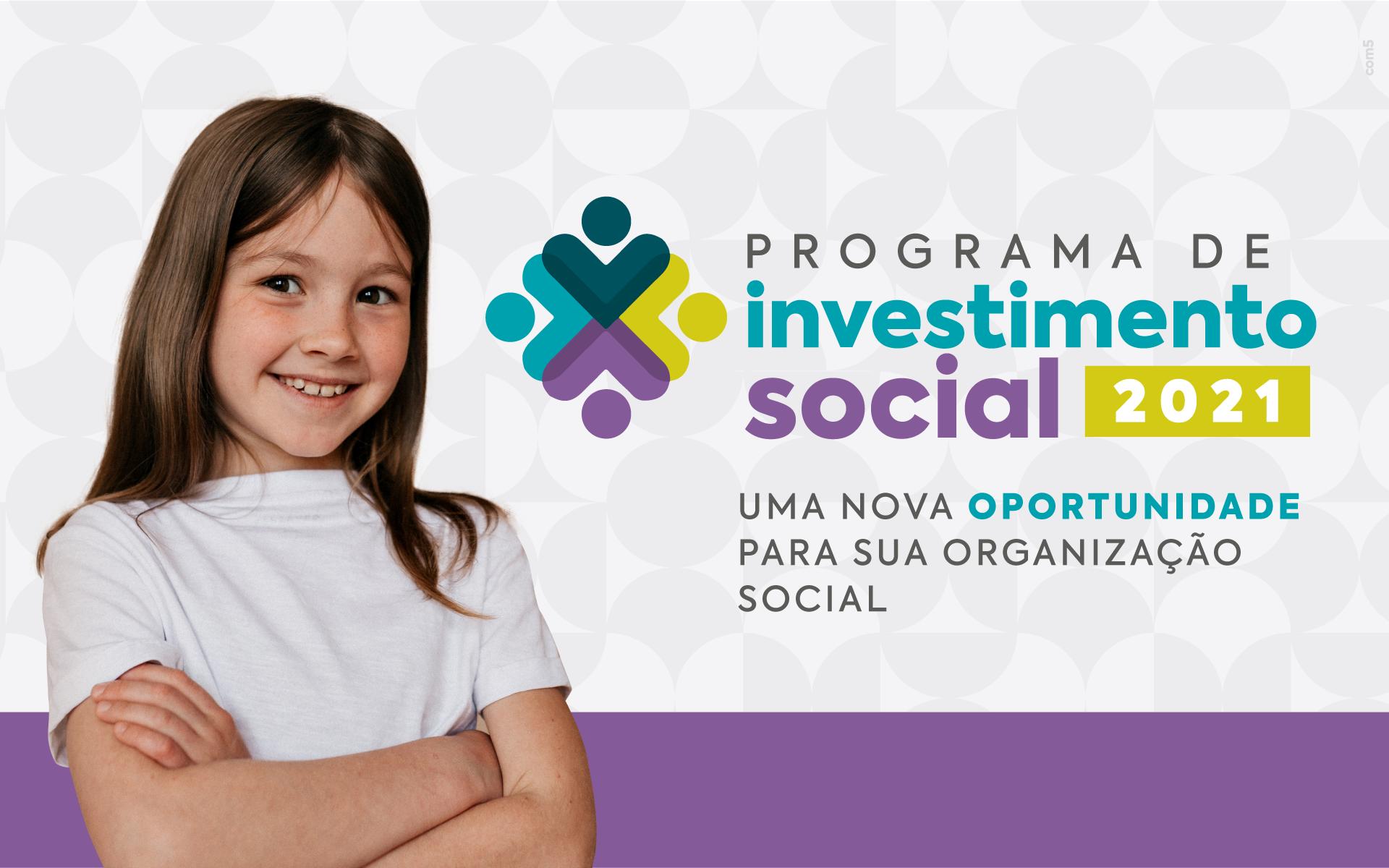 Instituto Credicitrus abre inscrições para o Programa de Investimento Social – PIS – 2021/2022